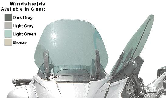 BMW 1100/1150 RT Stock Replacement Windscreen Design #1