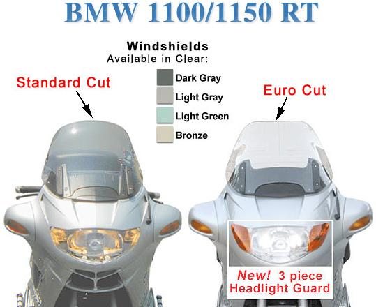 BMW 1100/1150 RT Windscreen Design #2